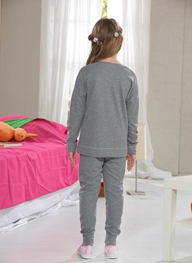 Baskılı Kız Çocuk Eşofman Takım-Zeyzey
